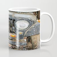 jeep Mugs featuring Willie Jeep by Urlaub Photography