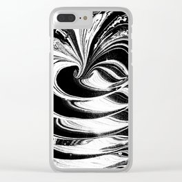 Time Warp Clear iPhone Case
