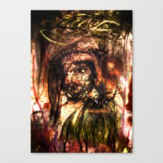 Funk Monk Canvas Print
