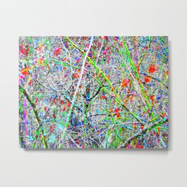 Abstract Autumn Winter Two Metal Print
