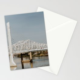 Louisville Bridges on the Ohio River Stationery Cards