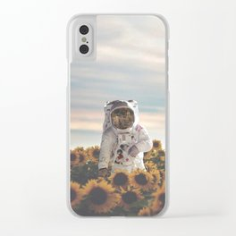 The Sunflower Galaxy, Messier 63 Clear iPhone Case