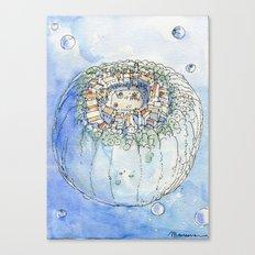 The Planet City Canvas Print