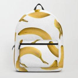 Bananas Pattern - white Backpack