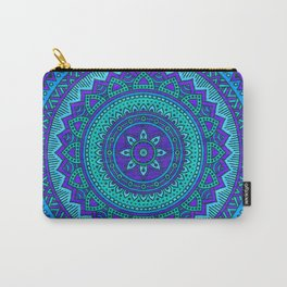 Hippie mandala 55 Carry-All Pouch