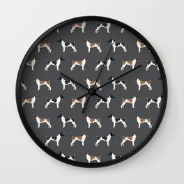 Rat Terrier dog breed decor gifts pure breed dogs Wall Clock