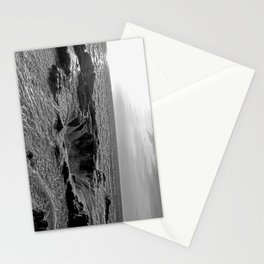 Thor's Well in B/W Stationery Cards