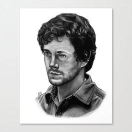 Will Graham aka Hugh Dancy Canvas Print