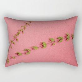 Bindweed on pink Rectangular Pillow