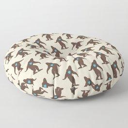 Bigfoot LOVE Floor Pillow