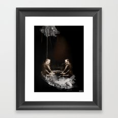 duo gualaZZi Framed Art Print