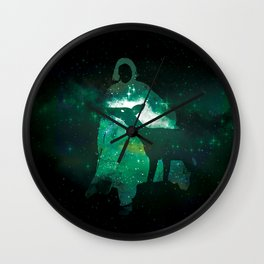 Snape and the Doe Wall Clock