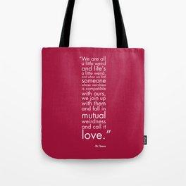 Mutual Weirdness Tote Bag