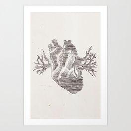 THE HEART/THE HEART Art Print