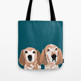 Molly and  Elwood Tote Bag