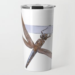 Shy Little Dragonfly Travel Mug