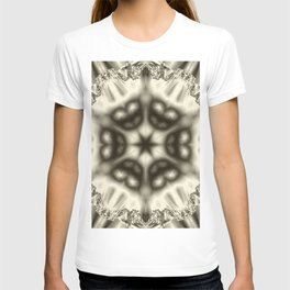 Sepia jewelled kaleidoscope splendor T-shirt