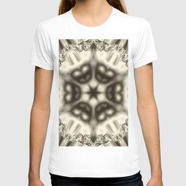 Sepia jewelled kaleidoscope splendor T-shirt