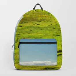 SCENERY 22 - Outdoor Grass Field Park Pathway Backpack