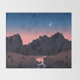 Rocky Mountain Marvelous Throw Blanket
