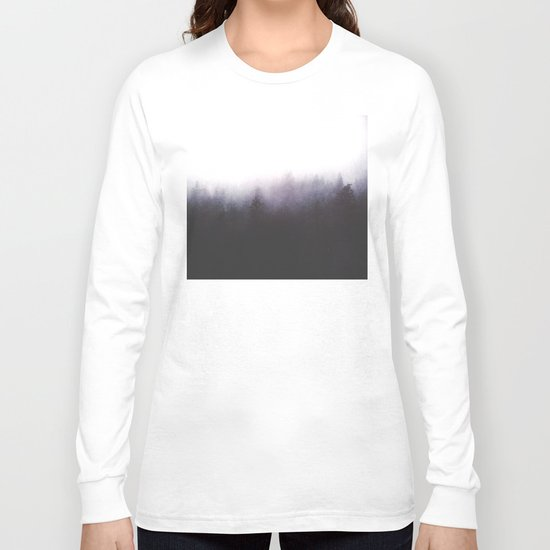 faded ghosts Long Sleeve T-shirt