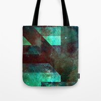 discount Tote Bags featuring Emerald Nebulæ  by Aaron Carberry