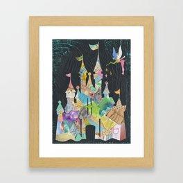 Castle fit for a princess Framed Art Print