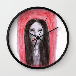 Cry Wall Clock