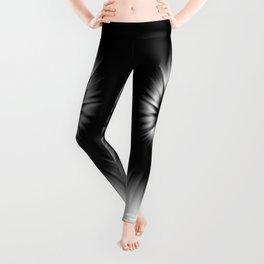 TIE DYE #1 (Black & White) Leggings