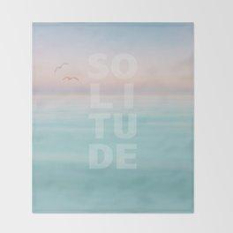Solitude Calm Waters Throw Blanket