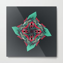 Calaabachti Truth Flower Metal Print