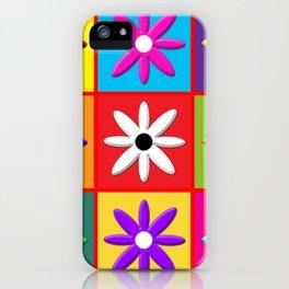 Pop Daisy iPhone Case