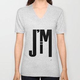 I'M JIM Unisex V-Neck