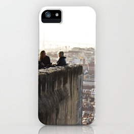 The view from the castle iPhone Case