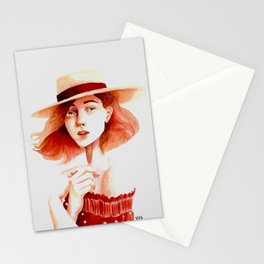 French Beauty Stationery Cards