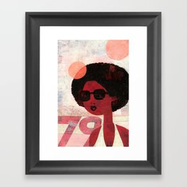 AFRO 79 Framed Art Print