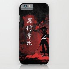 Black Samurai Red Death Slim Case iPhone 6s