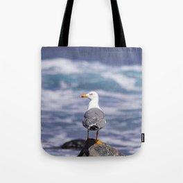 yellow-legged gull Tote Bag