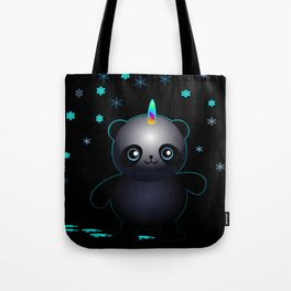 Glow in the Dark Pandacorn Tote Bag
