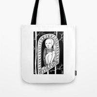 hawk Tote Bags featuring Hawk by ZANA