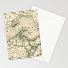 Lake Superior 1878 Stationery Cards