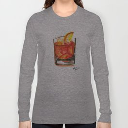 Negroni Cocktail Hour Long Sleeve T-shirt