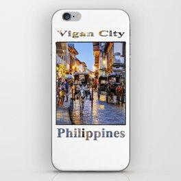 Rush Hour in Vigan City iPhone Skin