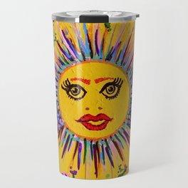 "The Original ""Slap Happy Smiley Tiley"" Travel Mug"
