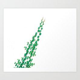 Greenery Vine (Color) Art Print