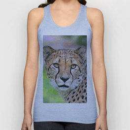 AnimalPaint_Cheetah_20171201_by_JAMColorsSpecial Unisex Tank Top