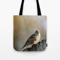 lonely Tote Bags featuring Independent! by IowaShots