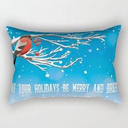 Holiday Greetings Rectangular Pillow