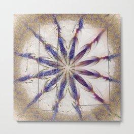 Suprasoriferous In The Raw Flowers  ID:16165-143630-08961 Metal Print