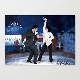 Pulp fiction Twist Canvas Print